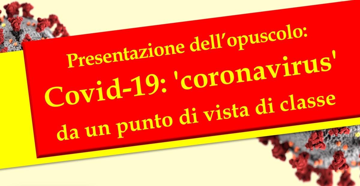 Resoconto iniziativa presentazione Opuscolo Covid-19, Milano3.10.2020
