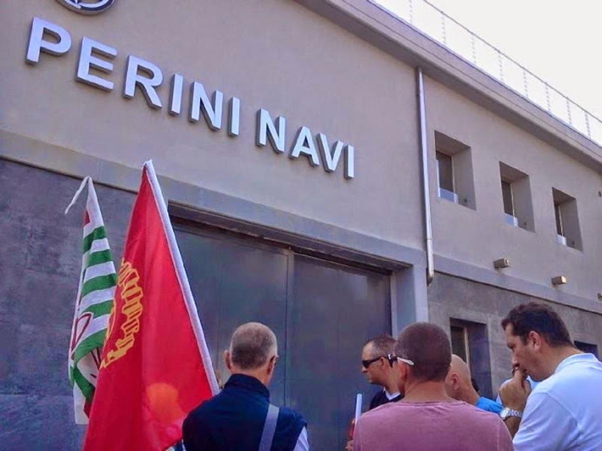 """Sulla vertenza """"Perini Navi"""" incorso"""