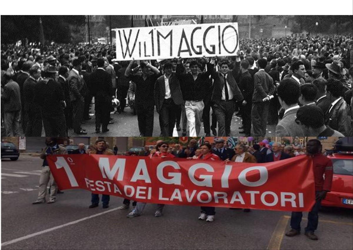 1° Maggio: giornata internazionale di solidarietà e di lotta dei lavoratori e dellelavoratrici