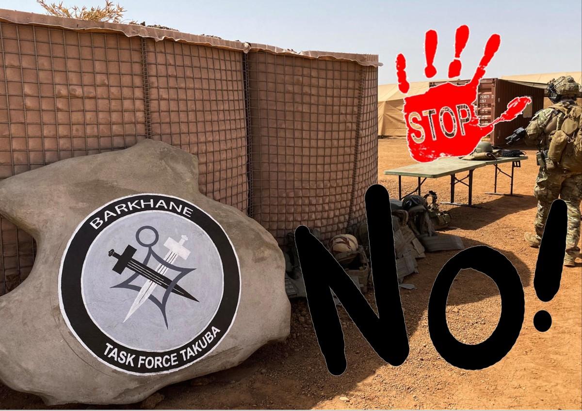 """NO all'operazione militare europea """"Takuba"""" nelSahel"""
